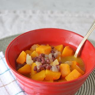 Butternut Squash Aduki Soup