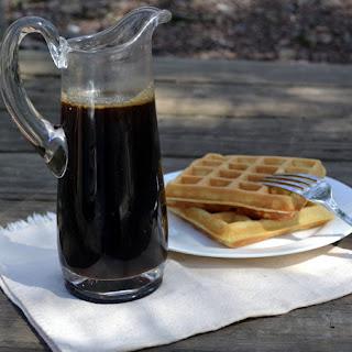 Homemade Breakfast Pancake Syrup.