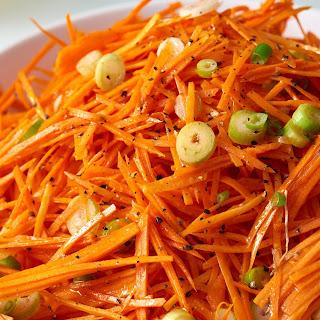 Tangy Carrot Slaw.