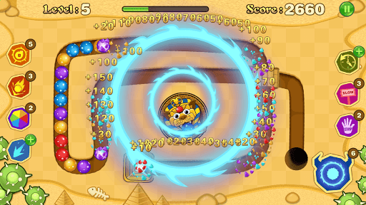 Jungle Marble Blast screenshot 2