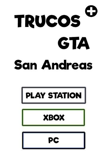 Trucos NoOFicial GTA S Andreas
