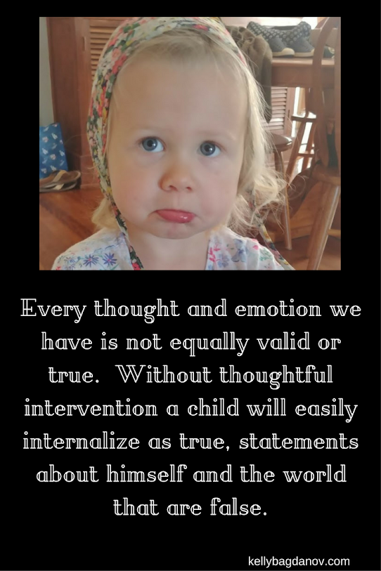 A great article about how to help a child manage their thoughts.