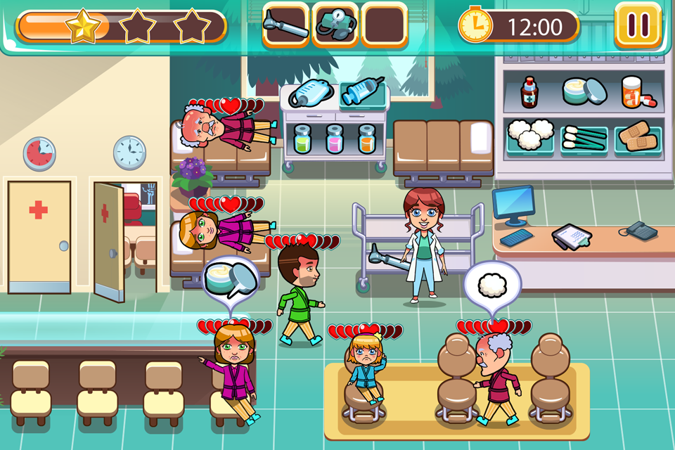 Hospital Dash - Simulator Game- screenshot