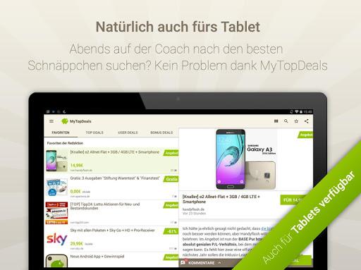 MyTopDeals - Schnäppchen App  screenshots 10