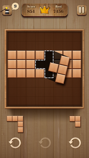 Fill Wooden Block 8x8: Wood Block Puzzle Classic 1.1 screenshots 4
