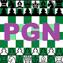 Chess game PGN viewer analysis icon