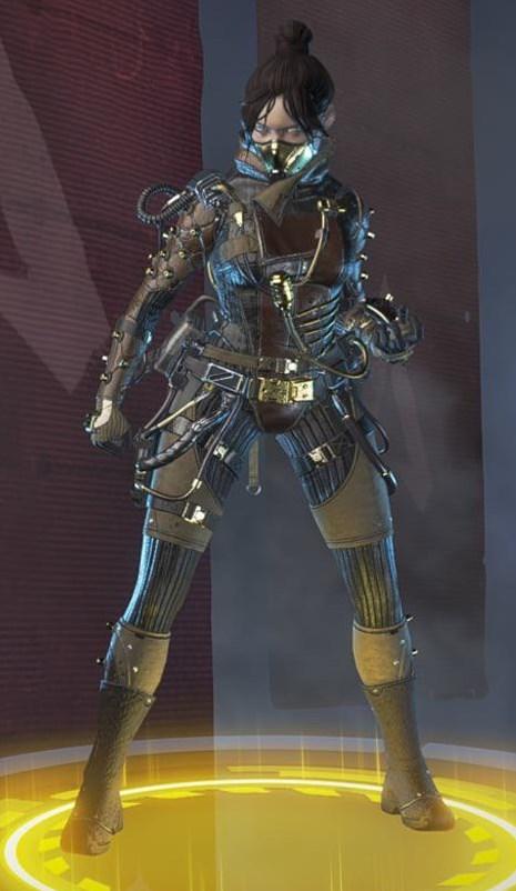 Wraith's Airship Assasin skin
