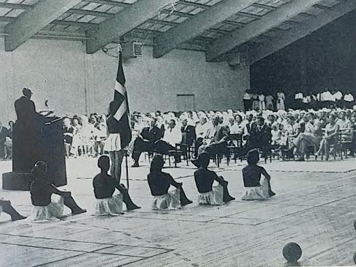 Tale til kongens besøg i 1958