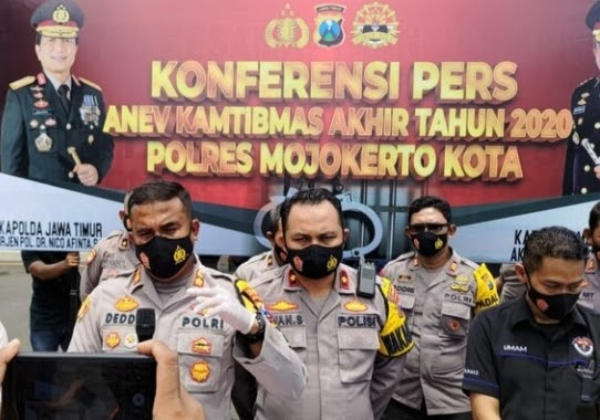 Warga Luar Kota Dilarang Masuk Kota Mojokerto, Jelang Pergantian Tahun Dan Malam Tahun Baru