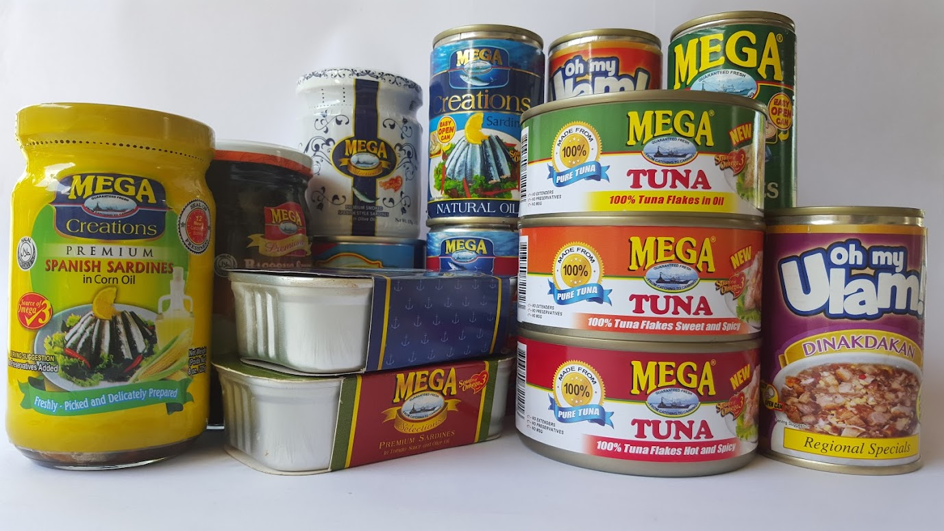 MEGA GLOBAL CORP. MAKER OF MEGA SARDINES AND OTHER CANNED PRODUCTS.