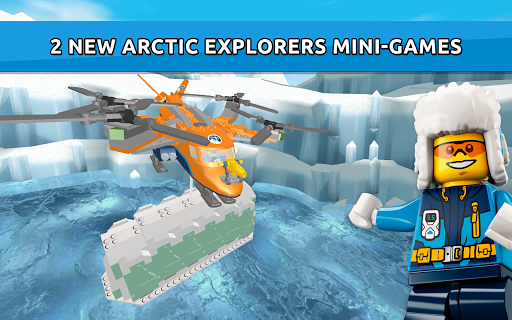LEGO® City game – new Arctic Explorers! screenshot