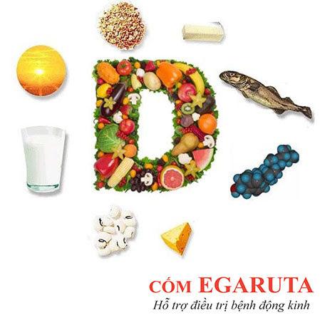 Vitamin D giúp giảm có giật, động kinh