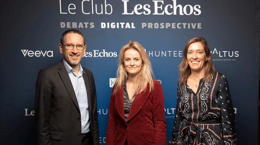 Club Les Echos Digital avec Denis Machuel et Belen Moscoso Del Prado - Keynote : Cécile Maisonneuve