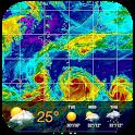 Weather radar & Global weather icon