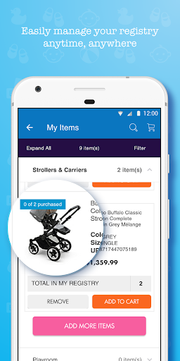 buybuy BABY: Baby Essentials + Registry screenshots 4