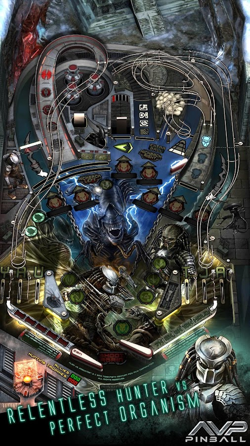 Aliens vs. Pinball- screenshot