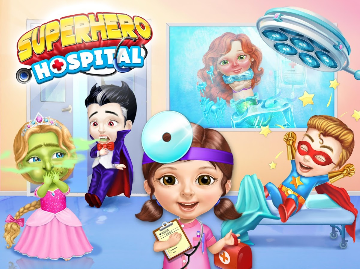 Superhero Hospital Doctor- screenshot