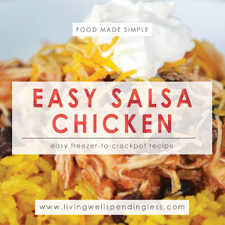 Easy Salsa Chicken.