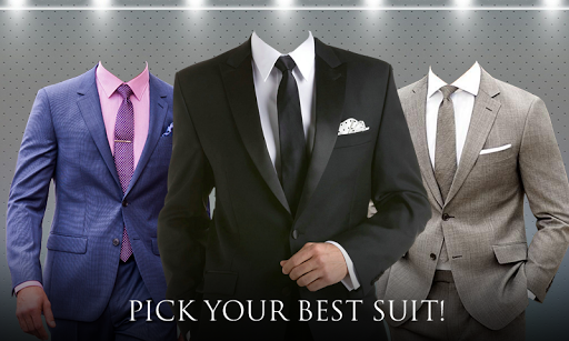 Men Best Suits Photo Montage