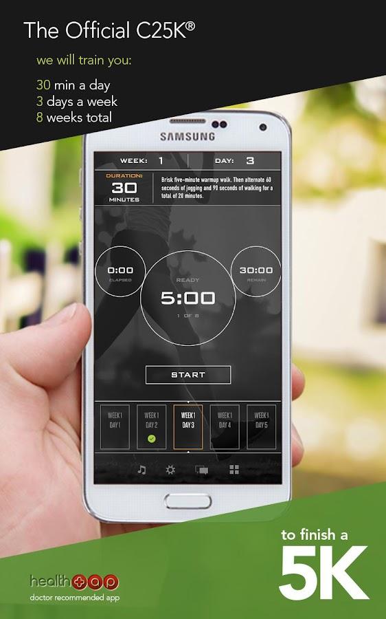 C25K®  - 5K Runner Trainer Pro- screenshot