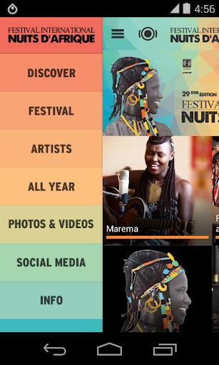 Festival Nuits d'Afrique 2015