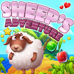 Sheep's Adventure - Connect 3 icon