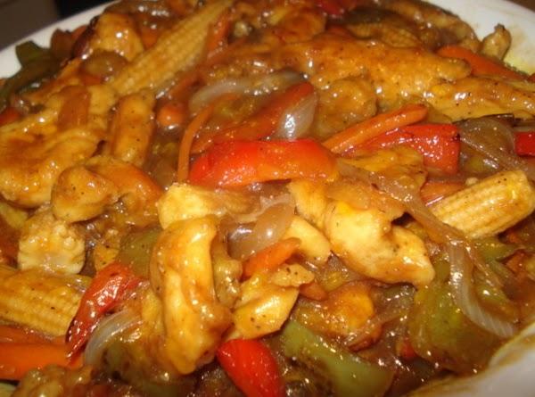 My Sweet And Sour Chicken (pollo Al Agridulce) Recipe
