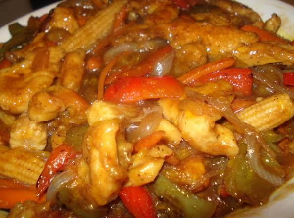 My Sweet And Sour Chicken (pollo Al Agridulce)