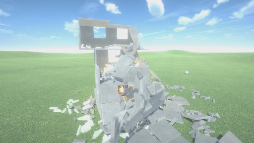 Destruction physics: building demolition sandbox filehippodl screenshot 6