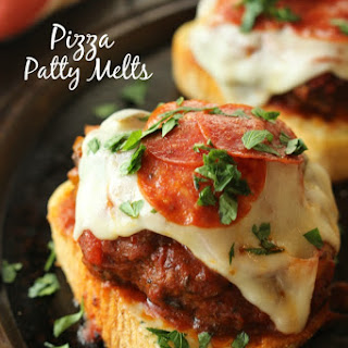 Pizza Patty Melts