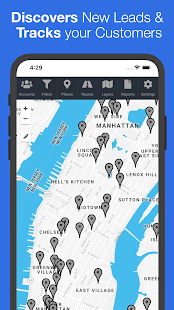 LeadPlotter - Route Planner & Sales CRM for PC-Windows 7,8,10 and Mac apk screenshot 1