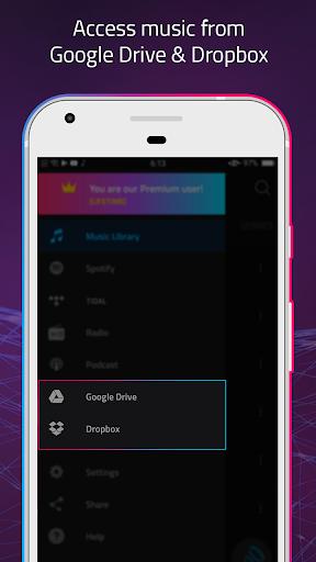 Boom: Music Player, Bass Booster & Equalizer screenshot 10
