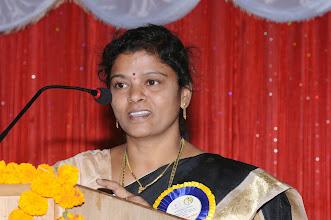 Photo: Dr. Aruna Devi - Guest of Honor