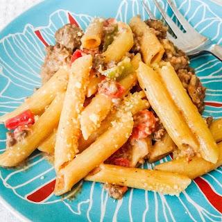 Easy Pasta Dinner in Instapot.