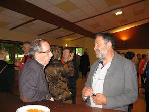 Photo: 022 Le Président, le trésorier, et un conférencier