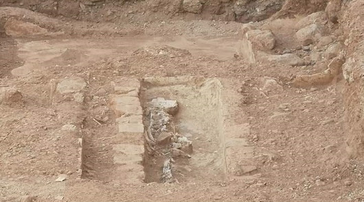 Halladas tumbas musulmanas en la calle La Palma de Almería