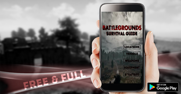 Battlegrounds Survival guide - náhled