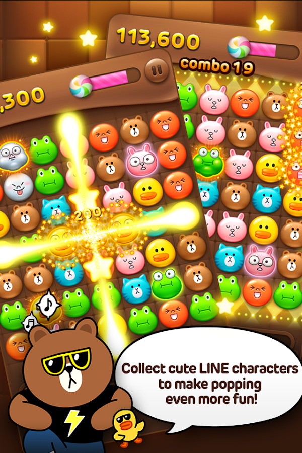 LINE POP- screenshot