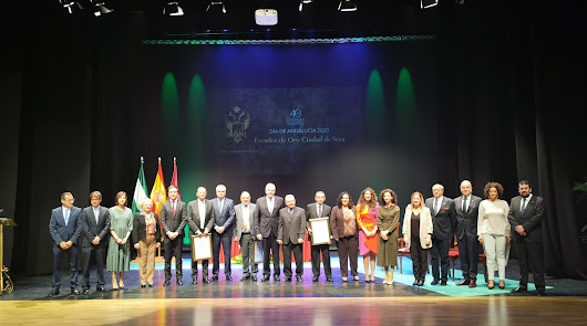 Vera reconoce la trayectoria de profesionales sanitarios por el Día de Andalucía