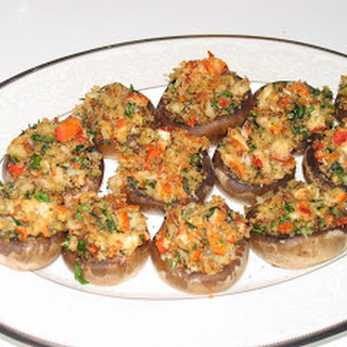 Lobster Stuffed Mushrooms