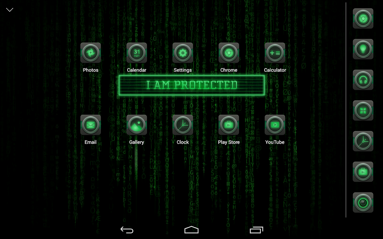 Google themes maker - Hacker Atom Theme Screenshot