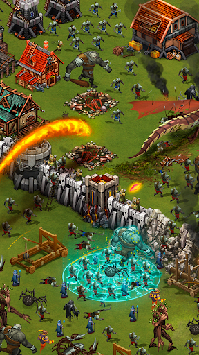Throne Rush  άμαξα προς μίσθωση screenshots 2