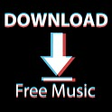 Download music, Free Music Player, MP3 Downloader icon