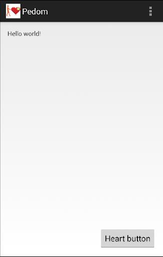 Pedom screenshot 1