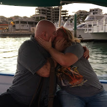Photo: Drunken PDA on the water taxi