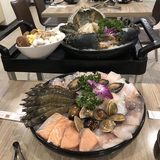 海鮮超級豐盛而且新鮮