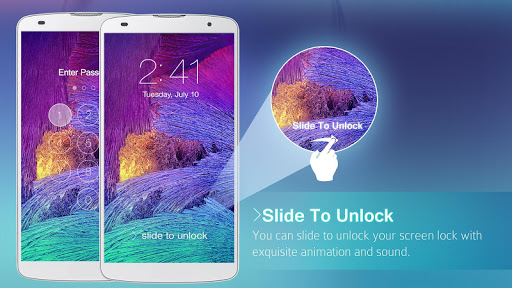 Lock Screen Galaxy Theme screenshot 9
