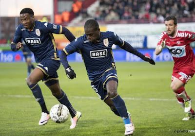 Farouk Miya, la perle ougandaise du Standard, terminera la saison à Mouscron