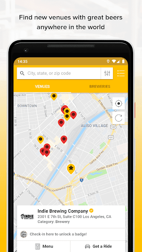 Screenshot for Untappd - Discover Beer in United States Play Store