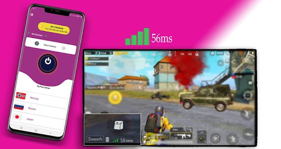 VPN For PUBG Mobile -PUB VPN-Best  skiins- 1